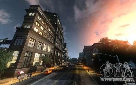 Pantallas de menú y arranque de Liberty City en  para GTA San Andreas quinta pantalla