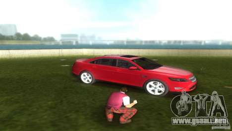 Ford Taurus para GTA Vice City visión correcta