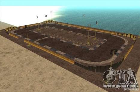 Nueva pista para deriva para GTA San Andreas