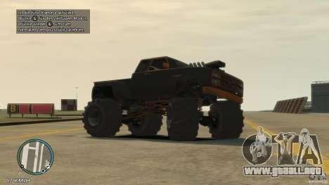 Bobcat megatruck 1.0 para GTA 4 left