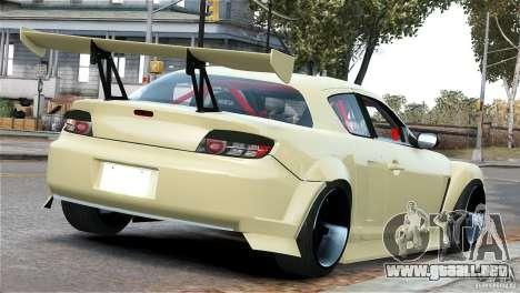 Mazda RX-8 Mad Mike para GTA 4 visión correcta