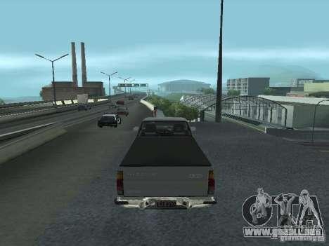 Nissan Pick-up D21 para la visión correcta GTA San Andreas