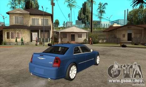 Chrysler 300C SRT 8 2008 para la visión correcta GTA San Andreas