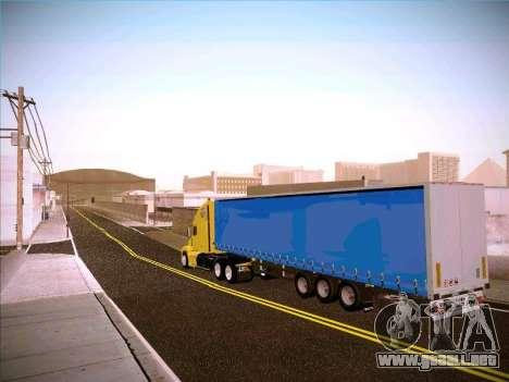 Freightliner Century Classic para GTA San Andreas vista posterior izquierda
