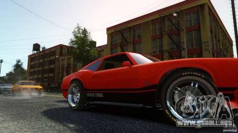 Sabre GT II Vinyl Roof para GTA 4 visión correcta