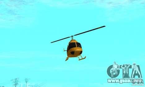 VIP TAXI para GTA San Andreas séptima pantalla