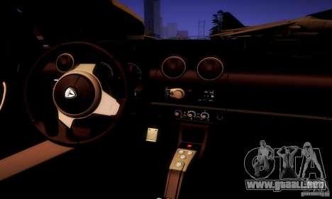 Tesla Roadster Sport para vista lateral GTA San Andreas