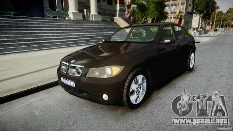 BMW 3-Series Unmarked [ELS] para GTA 4