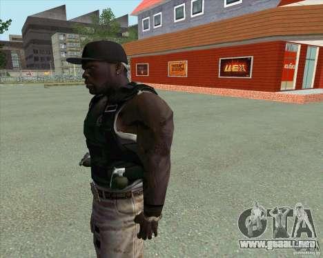 50 Cent para GTA San Andreas tercera pantalla