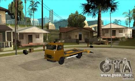 Camión de remolque Avia A31 para GTA San Andreas