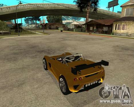Lotus 2-Eleven para GTA San Andreas left