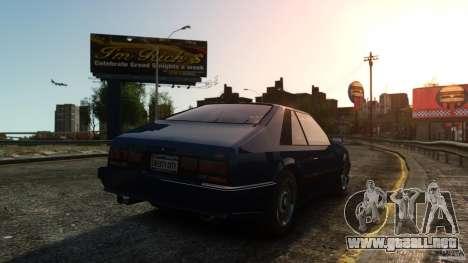 Uranus Hatchback para GTA 4 visión correcta