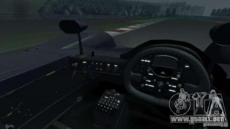 BMW V12 LMR 1999 EPM v1.0 para GTA 4 vista interior