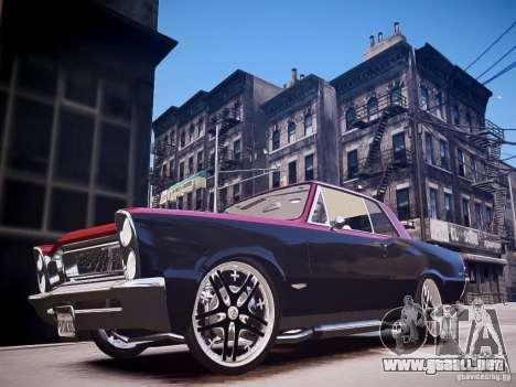 Pontiac GTO 1965 Custom discks pack 3 para GTA 4