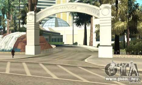 Welcome to Las Vegas para GTA San Andreas quinta pantalla
