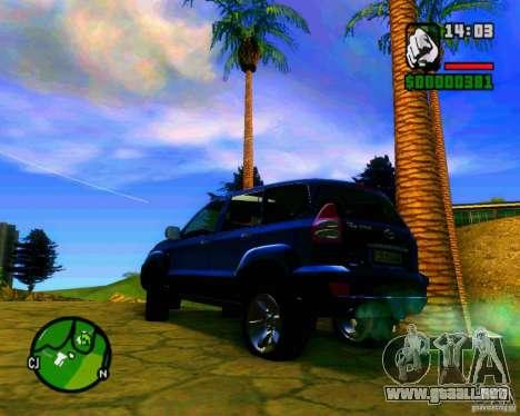 Toyota Land Cruiser Prado 120 para la visión correcta GTA San Andreas
