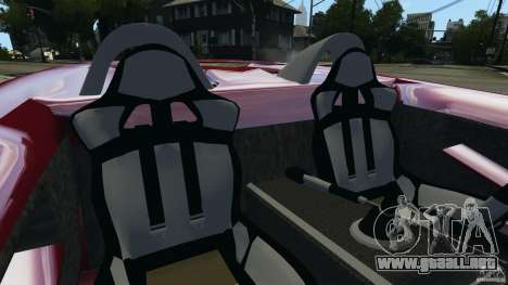 K-1 Attack Roadster v2.0 para GTA 4 vista interior