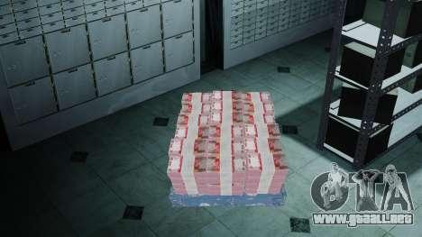 Indonesia dinero para GTA 4 adelante de pantalla