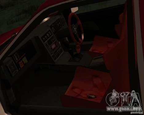 Ford RS 200 para vista lateral GTA San Andreas