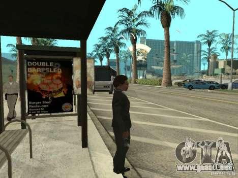 Línea de autobús en Las Venturas para GTA San Andreas sucesivamente de pantalla