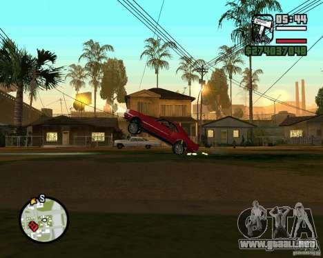 Dragger para GTA San Andreas tercera pantalla