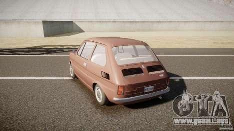 Fiat 126 para GTA 4 Vista posterior izquierda