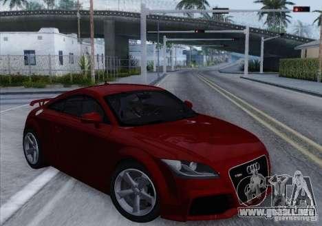 Audi TT-RS Coupe para GTA San Andreas left