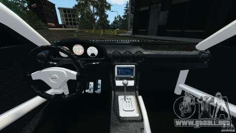 Nissan Silvia KeiOffice para GTA 4 vista hacia atrás