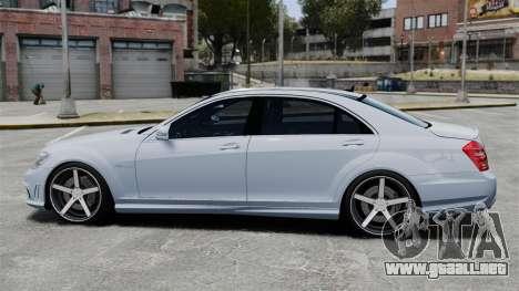 Mercedes-Benz S65 W221 Vossen v1.2 para GTA 4 left