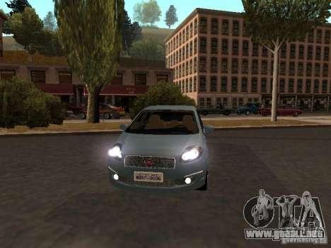 Fiat Linea T-jet para GTA San Andreas left