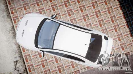 Mitsubishi Lancer Evolution X para GTA 4 visión correcta