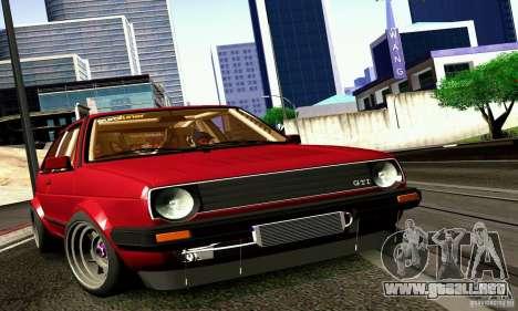 Volkswagen Golf MkII Racing para GTA San Andreas