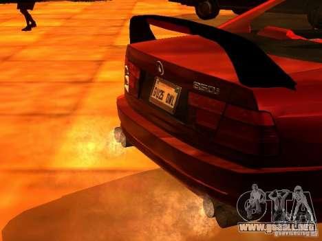 BMW 850i para la visión correcta GTA San Andreas