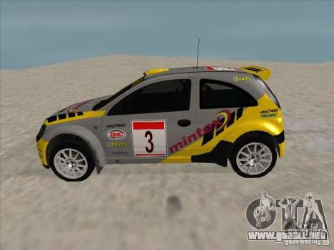 Opel Rally Car para GTA San Andreas left