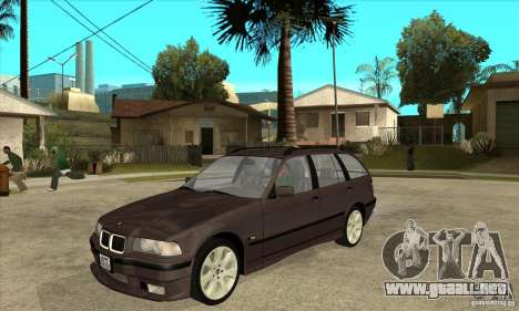 BMW 318i Touring para GTA San Andreas left