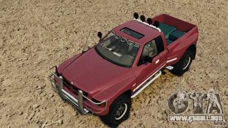 Dodge Ram 2500 Army 1994 v1.1 para GTA 4 vista desde abajo