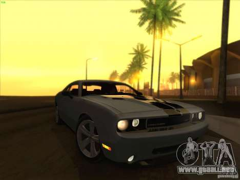 SGR ENB Settings para GTA San Andreas sucesivamente de pantalla