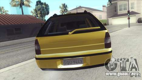 Fiat Palio Weekend 1997 para GTA San Andreas left