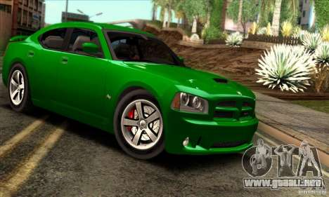 Dodge Charger SRT8 para visión interna GTA San Andreas