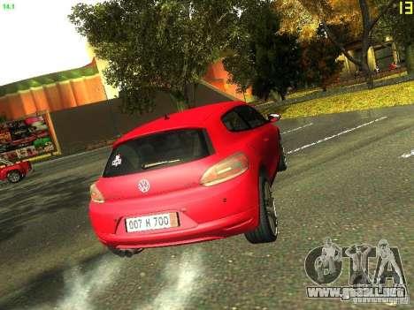 Volkswagen Scirocco 2009 para visión interna GTA San Andreas