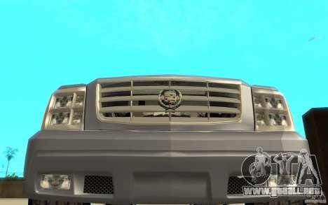 Cadillac Escalade para la vista superior GTA San Andreas