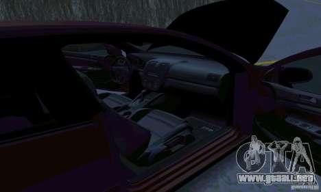 Volkswagen Golf V JDM Style para GTA San Andreas vista hacia atrás