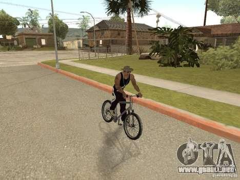Ocultar-conseguir armas en el coche para GTA San Andreas segunda pantalla