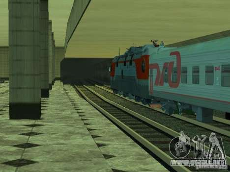 ÈP1M-392 OJSC «RUSSIAN RAILWAYS» para vista inferior GTA San Andreas