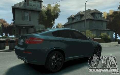 BMW X6-M 2010 para GTA 4 visión correcta