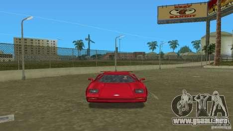 Infernus BETA para GTA Vice City vista lateral izquierdo