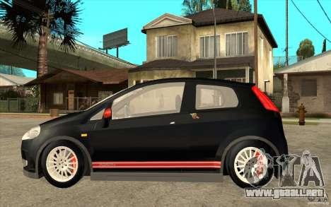 Fiat Grande Punto 3.0 Abarth para GTA San Andreas left