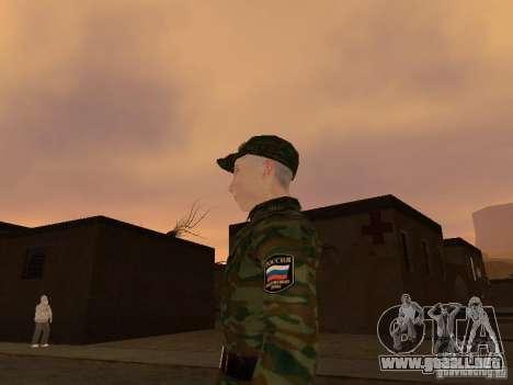 Soldados del ejército ruso para GTA San Andreas segunda pantalla