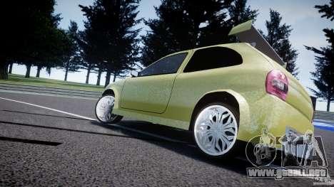 Chevrolet Corsa Extreme Revolution para GTA 4 vista lateral