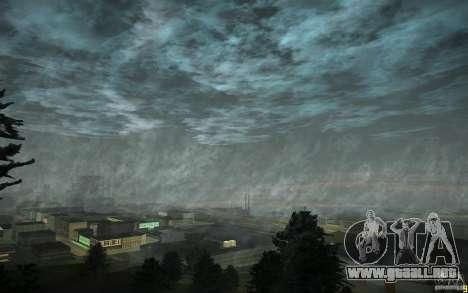 Timecyc para GTA San Andreas segunda pantalla